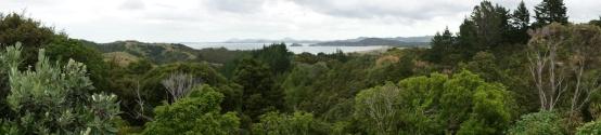Panorama über die Bay of Islands