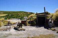Die stillgelegte Blackburn Mine